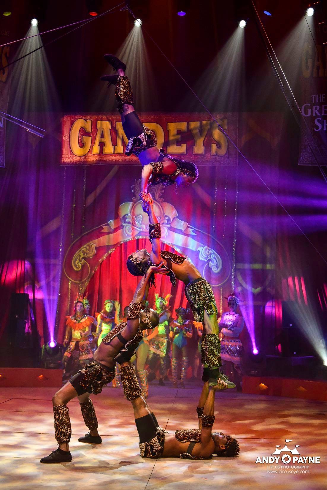 Gandeys Circus - © Stages in Design 2017