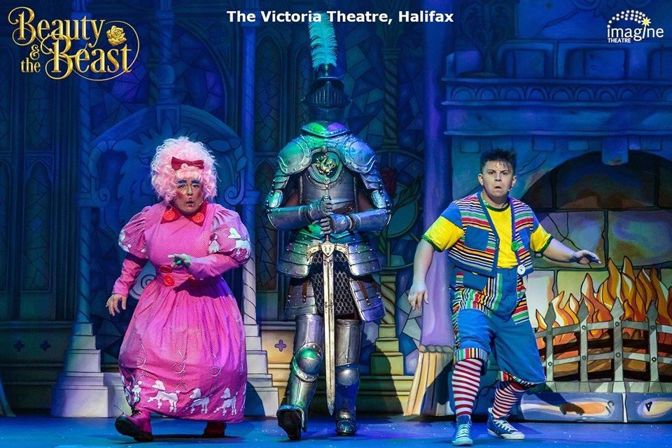 Beauty & the Beast- Imagine Theatre - Victoria Theatre Halifax 2019 - © Imagine Theatre Ltd
