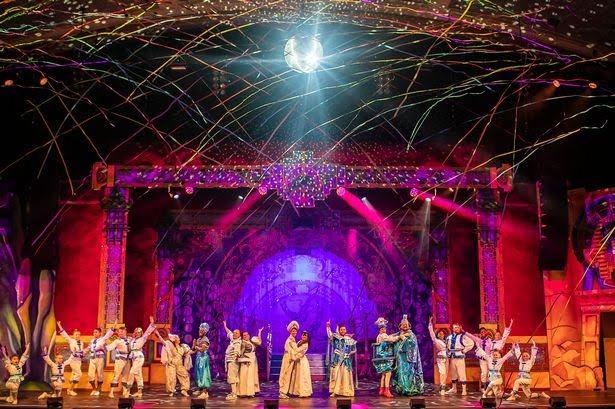 Aladdin - Imagine Theatre - DeMontfort Halls Leicester 2019 - © Imagine Theatre Ltd